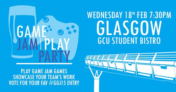 IGDA Scotland Game Jam Play Party 2015 in Glasgow