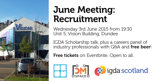 IGDA Scotland June 2015: Recruitment