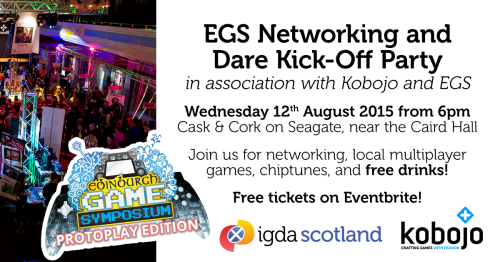 IGDA Scotland: EGS Networking and Dare Kick-Off Party